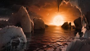 The surface of TRAPPIST-1f